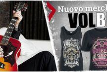 Volbeat / I Volbeat sono una band danese che fonde sonorità tipicamente Metal con uno stile di canto Rockabilly.