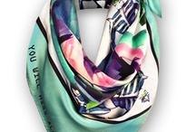 Contemporary Silk Scarves Collection 2013 / A selection from the new silk scarves collection.