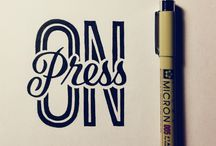 Fonts / Fonts for photoshop and for hand lettering.