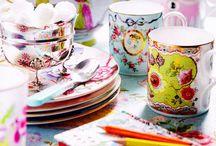 Mugs & Mug Rugs / by Jaclyn Fairchild