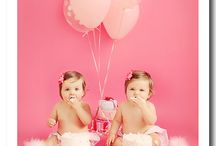 Corrie and Emily's 1st birthday / by Missy Owens