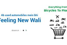 Feeling New Wali / Ab Used Car Mein Bhi 'Feeling New Wali'! ‪#‎BindaasGhoom‬ www.droom.in