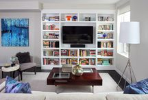 Dividers with Tv cabinets