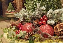 Holiday Decor / Holiday decor and installations by Jerry Rose / by Jerry Rose Floral and Event Design