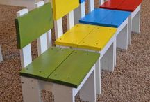 kids chairs pallets