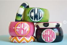 Delicious Monograms from Frill Seekers Gifts