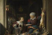 Gerrit Dou, Boogvensterschilderijen / Een corpus van 10 boogvensterschilderijen van Gerrit Dou