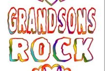 MY GRANDSONS ROCK! / by Linda Toews