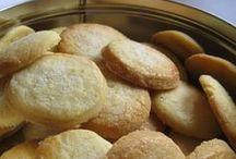 Cucina e dolci e biscotti.