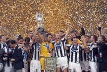 Juventus /  2 Coppe Intercontinentali (Intercontinental Cup)  2 UEFA Champions League  1 Coppa delle Coppe (UEFA Cup Winners Cup)  3 Coppe UEFA (UEFA Cup)  2 Supercoppe UEFA (UEFA Super Cup)  1 Coppa Intertoto (UEFA Intertoto Cup)  31 Scudetti (Italian Football Championship - Serie A)  9 Coppe Italia (Italian Cup)  5 Supercoppe Italiane (italian Super Cup)   ...What else?!?!