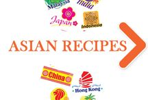 Asian Recipes Icon / Discover interesting recipes with Asian style!
