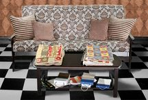 Pattern Futon Covers / Patterned Futon Covers, Modern Geometric and Abstract
