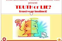 ENGLISH MEETING: TRUTH or LIE? Trust your instinct / May 9th, at 21.30 pm Participants come to practice a foreign language and make friends in a warm and friendly environment. If you want to spend a nice evening chatting, drinking something, meeting new people, join us! Every week the activity changes. The weekly topic is: THRUTH or LIE? I DARE YOU! This is a FREE event, just come along, buy your own drinks and prepare to socialize and swap your language!