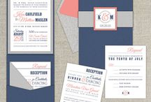 Ideer til invitationer og bordkort