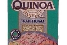 Queen Quinoa / Quinoa ('keen-waa) Gluten-free grain / by Maggie LeFleur