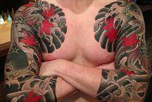 IREZUMI / Japanese Full Body Tattoo Art Traditional Imagery