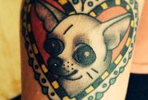 Chihuahua tattoos