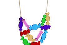 Tatty Devine perspex necklace collection / The latest Tatty Devine A/W15 necklace collection #tattydevine