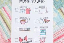 Morning jobs for kids