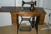 VINTAGE Sewing Machines/Buttons/Thread / .... / by Tennette Curry
