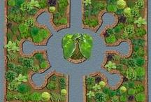Edible Gardening / Edible organic gardening inspirations