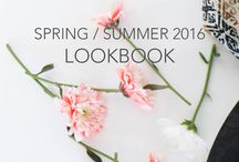 Spring/Summer 2016 : Lookbook