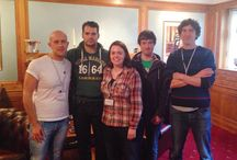 Henry Cavill getting ready for the JustGiving Awards 2015 / Henry Cavill getting ready for the JustGiving Awards 2015