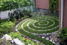 Jardin dessiné