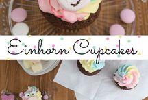 Cupcak Einhorn<3