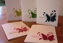Butterfly cards / Home made cards