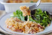 Casseroles / Mix everything into a pan and bake? Check! Quick and easy casserole ideas to save you time in the kitchen.
