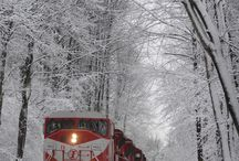 Winter Trains