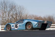Classic Race Car, Ford GT40 / Classic Car Ford GT