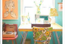 Hobby ruimte/ Craft room / by Frederika N