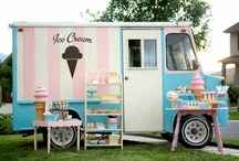 Ice Cream & Ice Cream Trucks / What a sweet sound to hear the music of an ice-cream truck on a hot summer day.