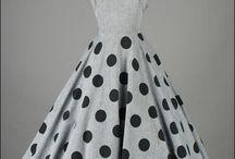 Robes vintage des années 1950