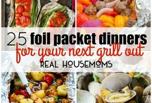 Foiled pack dinners