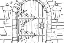 Coloring Pages and Tips