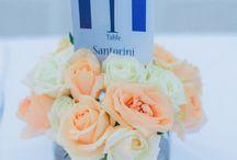 Santorini romantic wedding