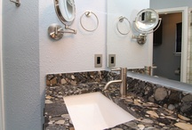 """Cool Bathroom Remodels / Some of the bathroom remodels we have done are just plain cool. These are some that we feel fall in the """"cool"""" category."""