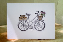 Card-Bicycle / by Vicky Lux