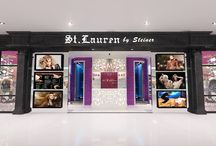 ST. LAURENT SALON - MANADO / Salon with marlyn monroe concept story inside the salon.