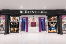 ST. LAURENT SALON - MANADO / Salon with marlyn monroe concept story inside the salon.