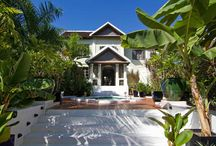 The Hotel Exterior / Welcome to Villa Maly.  Follow this board to discover our hotel in Luang Prabang, Laos.