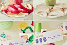 Healthy Snacking / Eric Carle themed snacks / by Shannon Rice