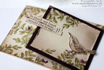 """Stamp:An Open Heart* / Handmade cards featuring the stamp set """"An Open Heart"""" by Stampin' Up."""