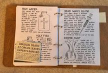 Journal pages ( Gravity Fall, Supernatural )