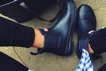 Classy footwear.