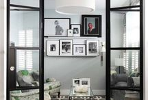 Atelier glass wall
