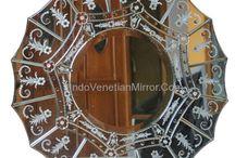 Decorative Mirror / All about venetian mirror, wall mirror, antique mirror, furniture mirror.
